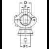 Fix szórófej 20mm-es csőre