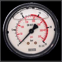Nyomásmérő óra 25 bar