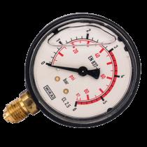 Nyomásmérő óra 6 bar