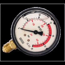 Nyomásmérő óra 30 bar
