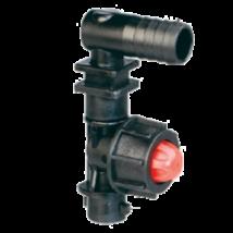 1 állású 1 utas szórófej 10mm-es tömlőre csepegésgátlóval
