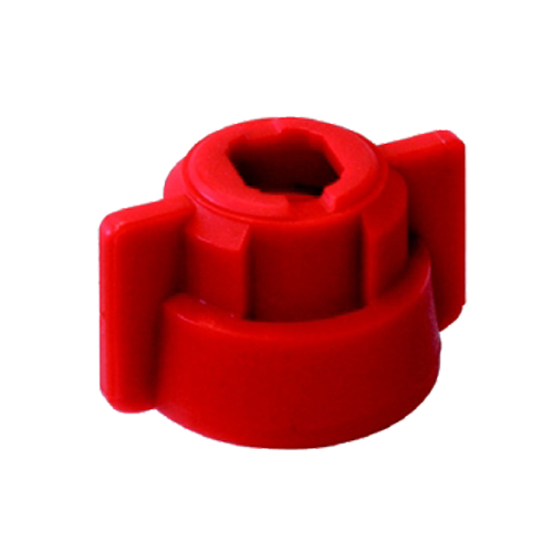 SW8/10 záróanya + tömítés piros